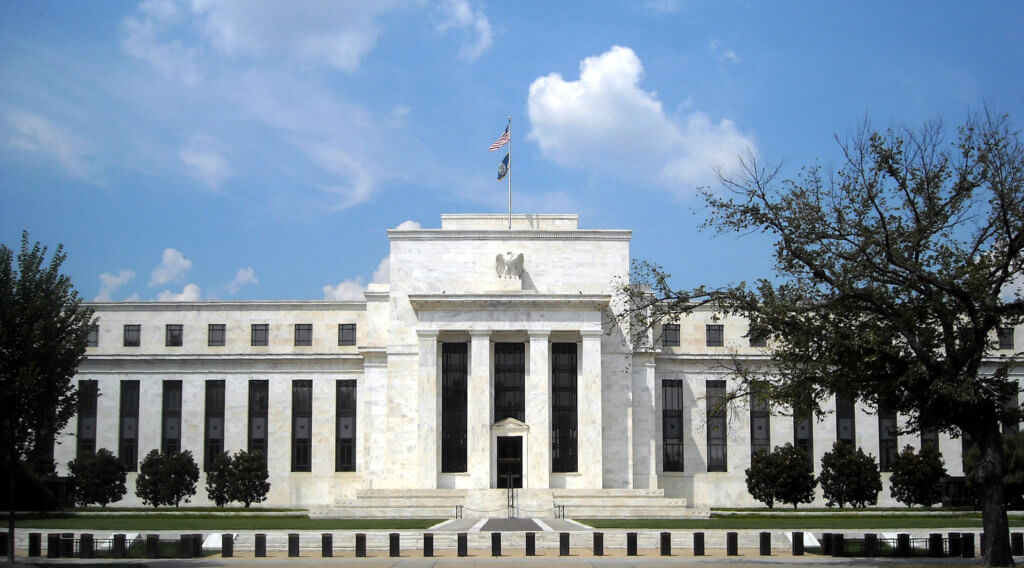 Federal Reserve Bank building in Washington, D.C.