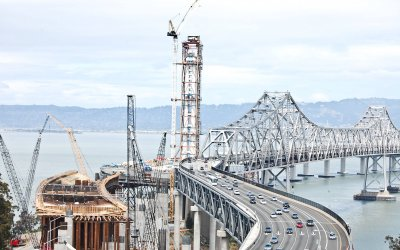 Construction of the Bay Bridge