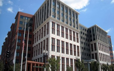 U.S. Department of Transportation Building in Washington, D.C.