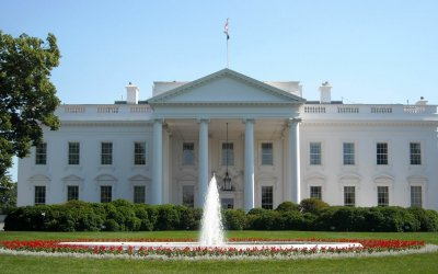 White House in Washington, D.C. Source: Wikimedia Commons